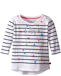 Tommy Hilfiger Kids Stripe Hilfiger Long Sleeve Top