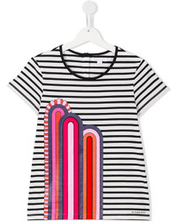 Burberry Kids Striped T Shirt