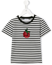 Dolce & Gabbana Kids Striped T Shirt