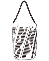 Proenza Schouler Striped Detail Tote Bag