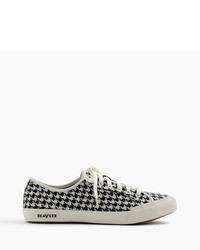J.Crew Seavees For 0667 Monterey Sneakers In Houndstooth