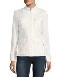 Tory Burch Sargeant Pepper Lace Up Army Jacket