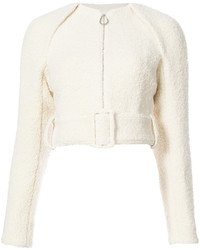 Victoria Beckham Zip Cropped Jacket