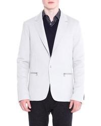 Lanvin Zip Pocket One Button Jacket
