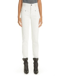 Isabel Marant 80s High Rise Straight Leg Jeans