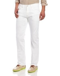 AG Adriano Goldschmied The Matchbox Slim Straight Jean In White