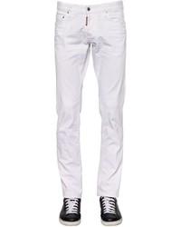 DSQUARED2 18cm Slim Fit Stretch Denim Jeans