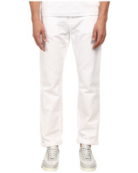 Bikkembergs Five Pocket White Jean