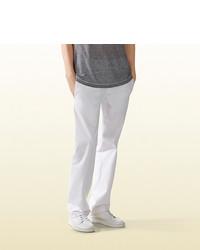 Gucci Softened Stretch Cotton Sailor Chino