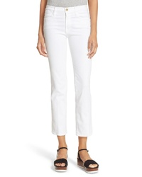 Frame Le High Straight High Rise Crop Jeans