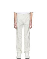 Acne Studios Off White Bla Konst Murphy Painted Jeans