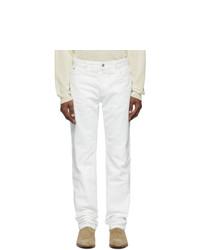 Maison Margiela Off White Gart Dyed Jeans