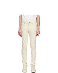 Naked and Famous Denim Off White Seed Super Guy Jeans