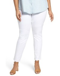 Foxcroft Plus Size Nina Slimming Pull On Legging Jeans