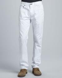 Rag and Bone Rag Bone Slim White Jeans