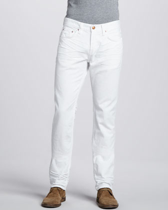 J Brand Ready To Wear Kane White Jeans