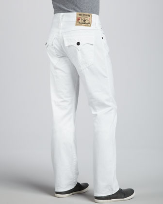 True Religion Ricky White Brick Jeans