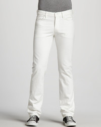 7 For All Mankind Slimmy Clean White Jeans