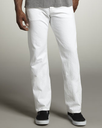 Standard Clean White Jeans | Where to buy & how to wear