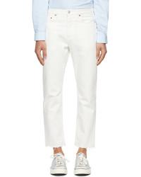 Harmony White Dorion Jeans