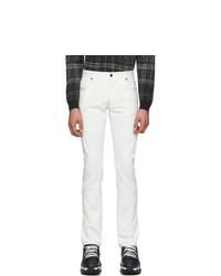 Fendi White Forever Denim Jeans