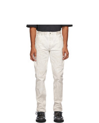 Maison Margiela White Marble Jeans