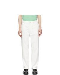 A.P.C. White Martin Jeans