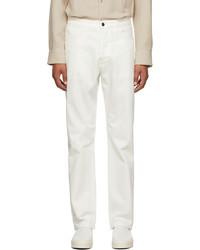 The Row White Monroe Jeans