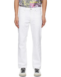 Tanaka White Slim Crop Jeans