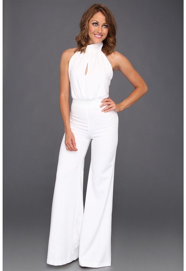 Abs by allen schwartz abs allen schwartz halter jumpsuit where to