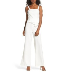 Jay by jay godfrey violet drape waist jumpsuit medium 5256007