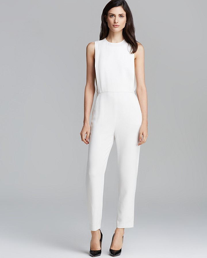 Buy White Jumpsuit - Breeze Clothing