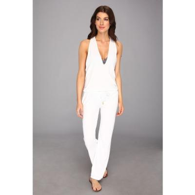 White Jumpsuit Romper | Fashion Ql