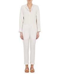 Isabel Marant Nuk Jumpsuit White Size 38 Fr
