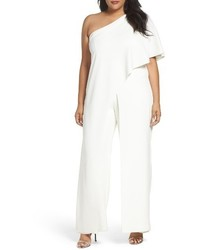 Plus size one shoulder jumpsuit medium 3761181