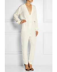 Tamara Mellon Silk Jumpsuit | Where to buy & how to wear