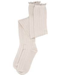 Free People All For One Over The Knee Pointelle Socks