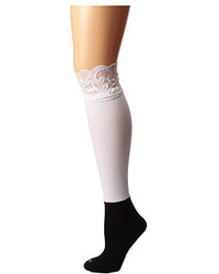 Bootights Lacie Lace Darby Knee Highankle Sock Knee High Hose