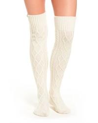 uggr Ugg Cable Knit Over The Knee Socks