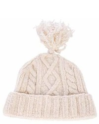 Burberry London Knit Wool Blend Beanie