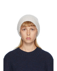 Maison Margiela Off White Pilled Gauge Beanie