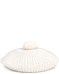 Gucci Pompom Knitted Beret Hat