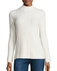 Theory Friselle Cable Knit Sweater