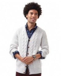 Nautica Sweater Cable Cardigan Sweater