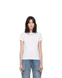 Maison Margiela White Numbers T Shirt