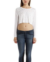 Rag and Bone Rag Bone Belle Crop Pullover