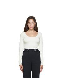Proenza Schouler White Compact Knit T Shirt