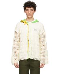 Loewe Off White Paulas Ibiza Crochet Hoodie