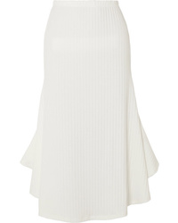 Maggie Marilyn Can You Spot Me Ribbed Knit Midi Skirt