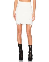 Yeezy Season 3 Destroyed Boucle Skirt